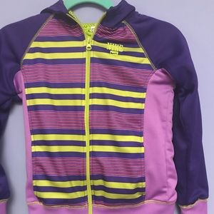 Girls Nike hooded sweatshirt